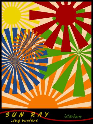 阳光SVG矢量